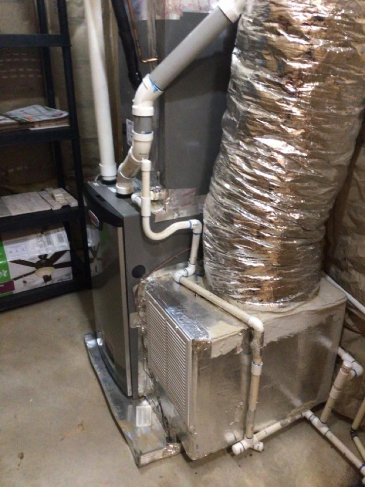 Blue Ridge, GA - Maintenance on Lennox duel fuel system maintenance and filter change