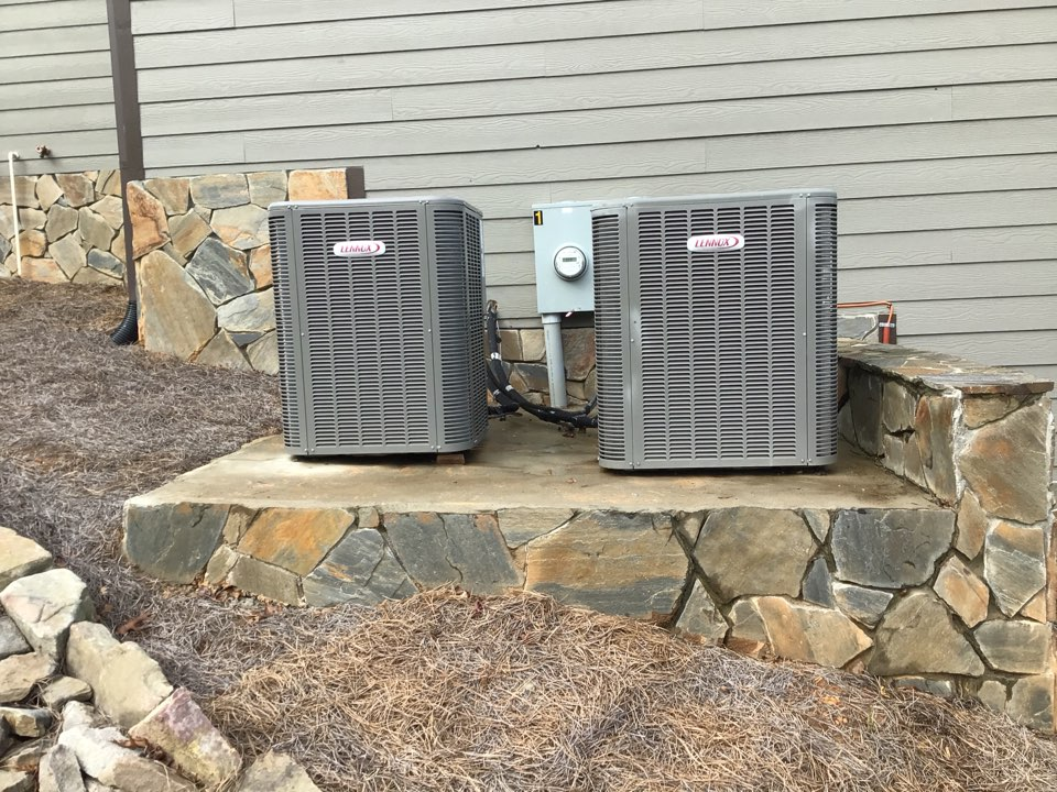 Mineral Bluff, GA - Maintenance on Lennox duel fuel systems and heat pump system and filter change