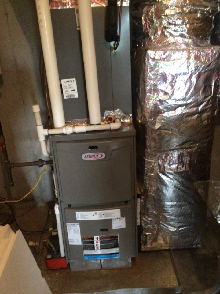 Mineral Bluff, GA - Lennox duel fuel system maintenance and filter change