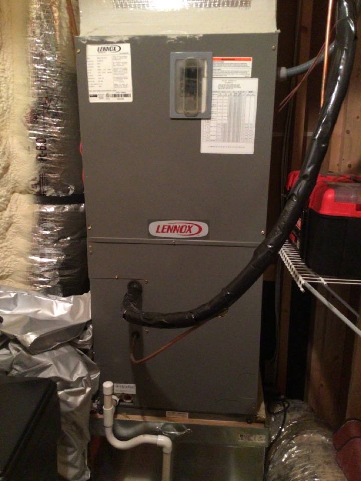 Blue Ridge, GA - Lennox heat pump maintenance and filter change