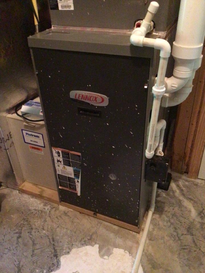 Blairsville, GA - Lennox duel fuel system maintenance and filter change