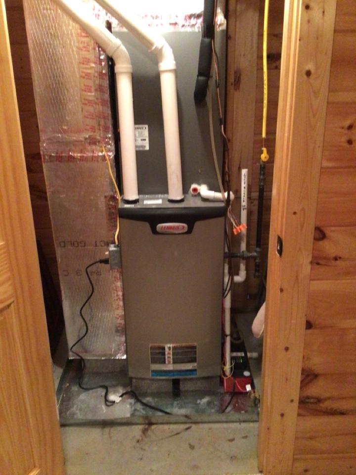 Morganton, GA - Maintenance on Lennox duel fuel systems and filter change