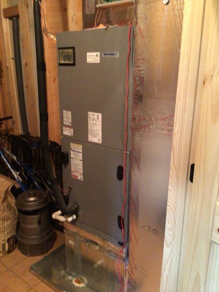 Blue Ridge, GA - Tempstar heat pump maintenance and filter change