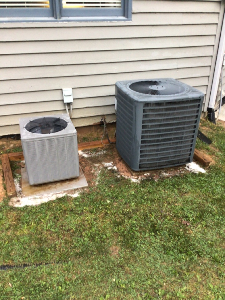 Blairsville, GA - Rheem and Goodman heat pump maintenance and filter change