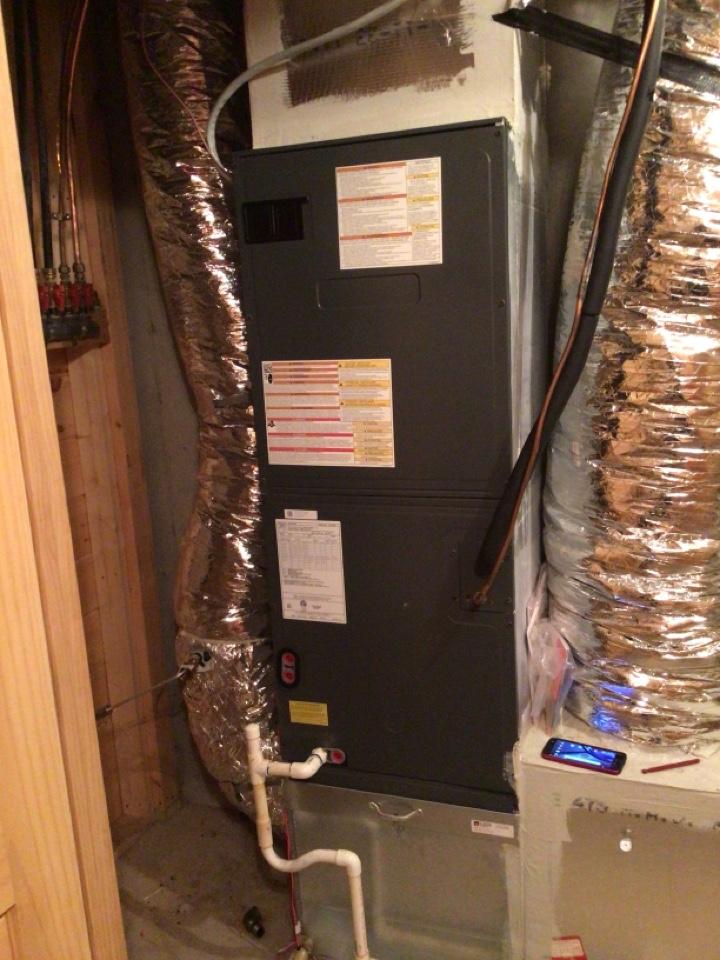 Blue Ridge, GA - Goodman heat pump maintenance and filter change