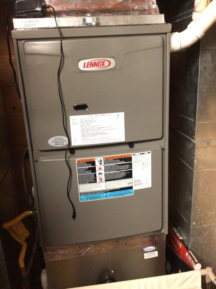Blue Ridge, GA - Lennox duel fuel system maintenance and filter change