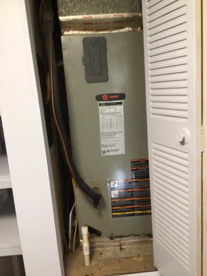 Blue Ridge, GA - Trane heat pump no cool