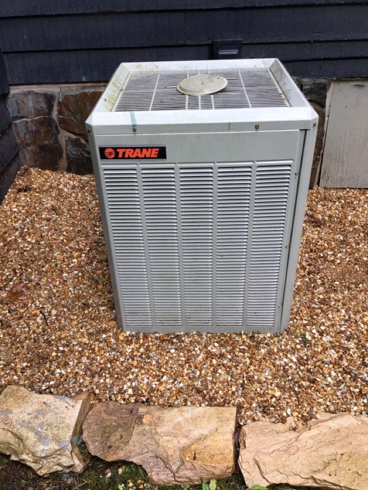 Morganton, GA - Trane heat pump no cool