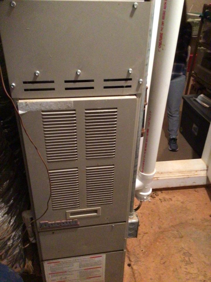 Morganton, GA - Goodman heat pump maintenance and filter change