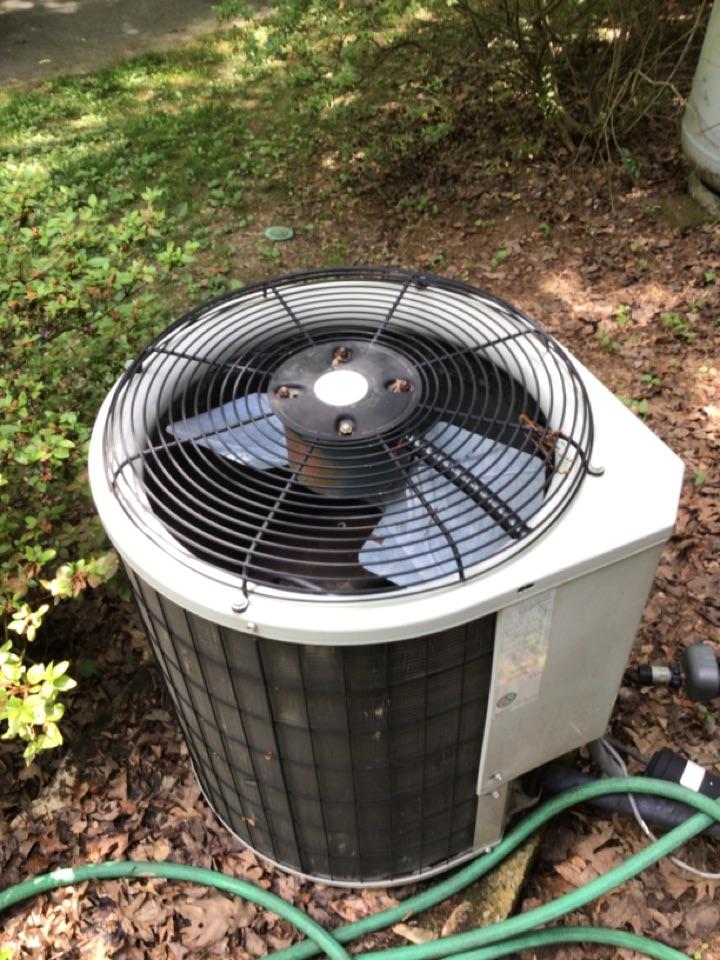 Blue Ridge, GA - Payne heat pump maintenance and filter change