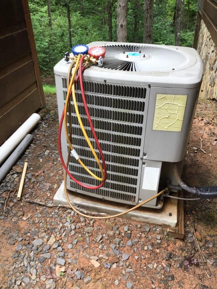 Blue Ridge, GA - GMC heat pump maintenance and filter change