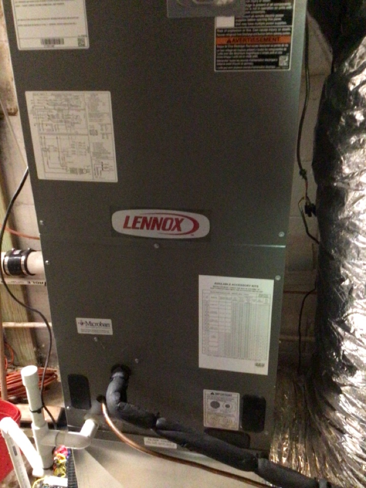 Blue Ridge, GA - Lennox not draining cleared drain line ran system working fine at this time