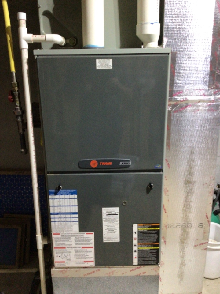Blue Ridge, GA - Maintenance on trane duel fuel system and filter change