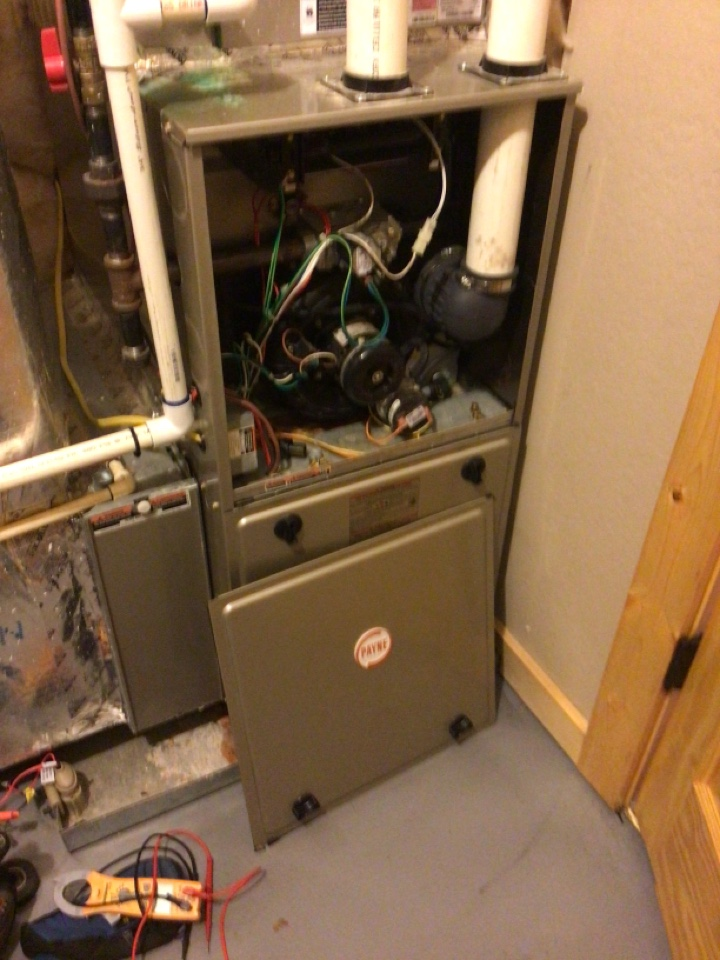 Blue Ridge, GA - Payne duel fuel system maintenance and filter change