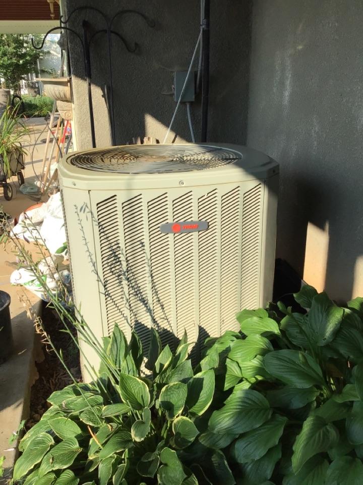 Trane heat pump maintenance and filter change
