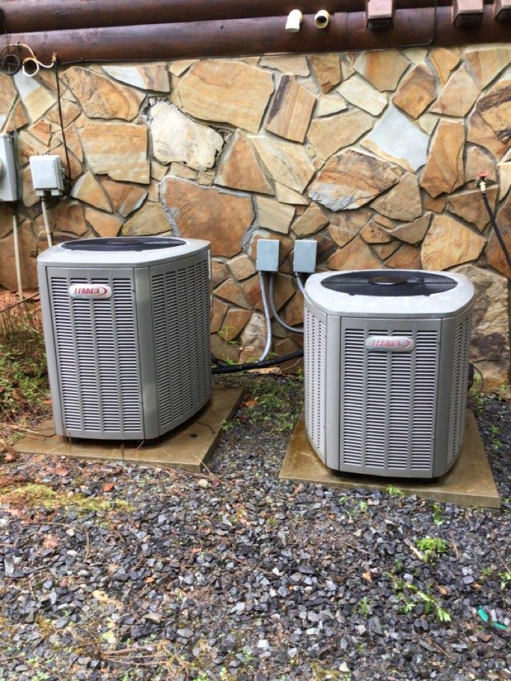 Lennox heat pump maintenance and filter change