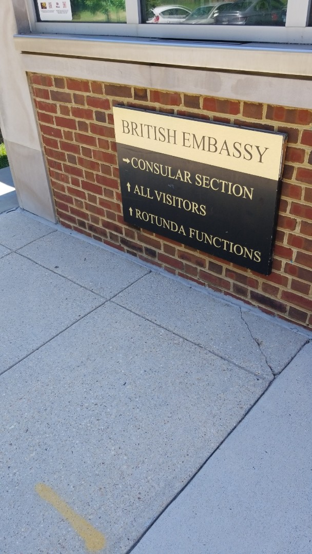 Washington, DC - Helping the British Embassy with an internal office move.