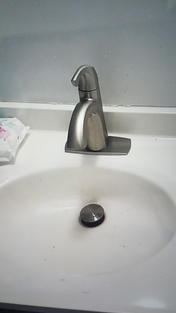 Fredericksburg, VA - Installed new master bedroom sink faucet