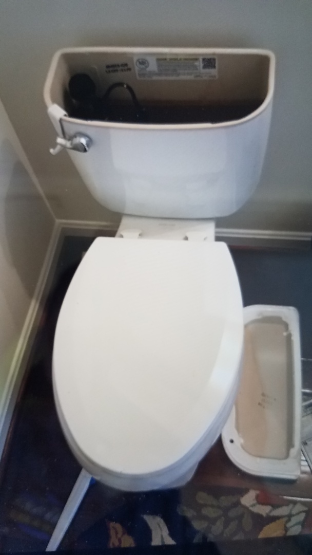 Fredericksburg, VA - Repaired toilet in half bath on first floor