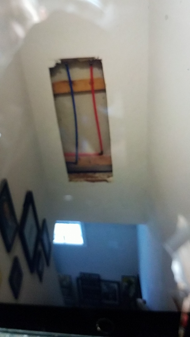 Stafford Courthouse, VA - Re piped 1 and a 1/2 bathrooms from copper to PEX water lines