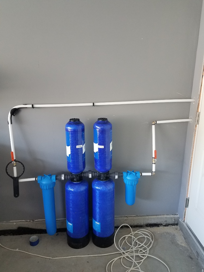 Stafford, VA - Installed customers supplied filtration system with bypass valve