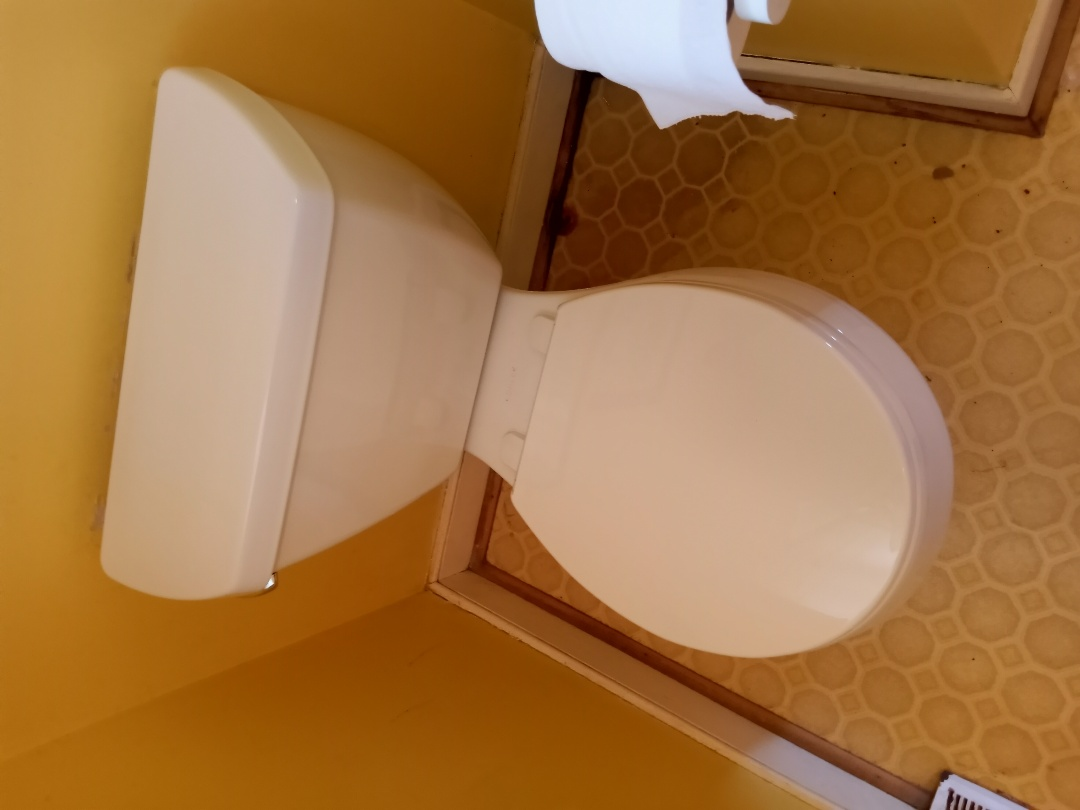 Replaced Toilet in Guest bedroom on first floor New bolts wax ring and supply line Stafford va