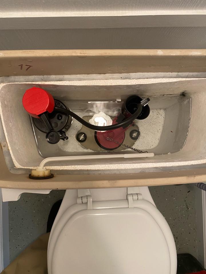 Fredericksburg, VA - Toilet repair