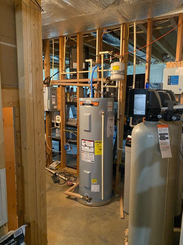 Fredericksburg, VA - Installed new water heater.