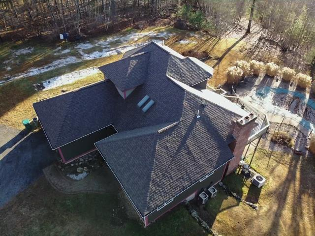 Princeton, MA - Another roof replacement recently completed in Princeton, Massachusetts!