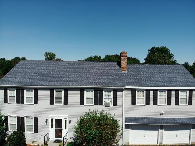 Northborough, MA - Roof replacement in Northborough, Massachusetts.
