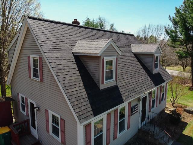 Templeton, MA - Just finished up this roof replacement. The homeowner chose Owens Corning Duration shingles. Color - Black Sable