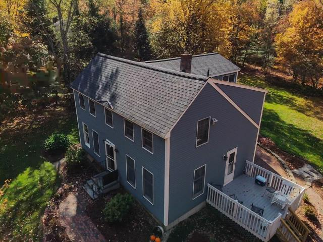 Barre, MA - Installed CertainTeed Landmark Pro Charcoal Black shingles