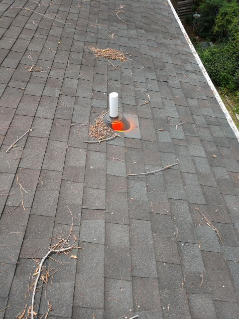 Charleston, SC - Residential roof leak pipe boot repair