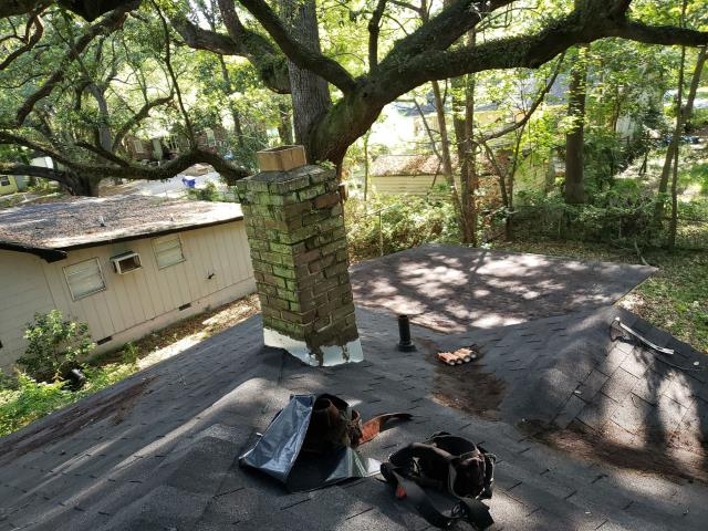 North Charleston, SC - Fixed numerous leaks on his home, we also repaired a few shingles.