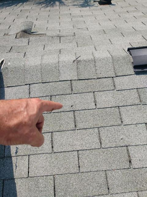 Folly Beach, SC - Roof leaks on a residential home. Will need to repair the TPO flat roof.