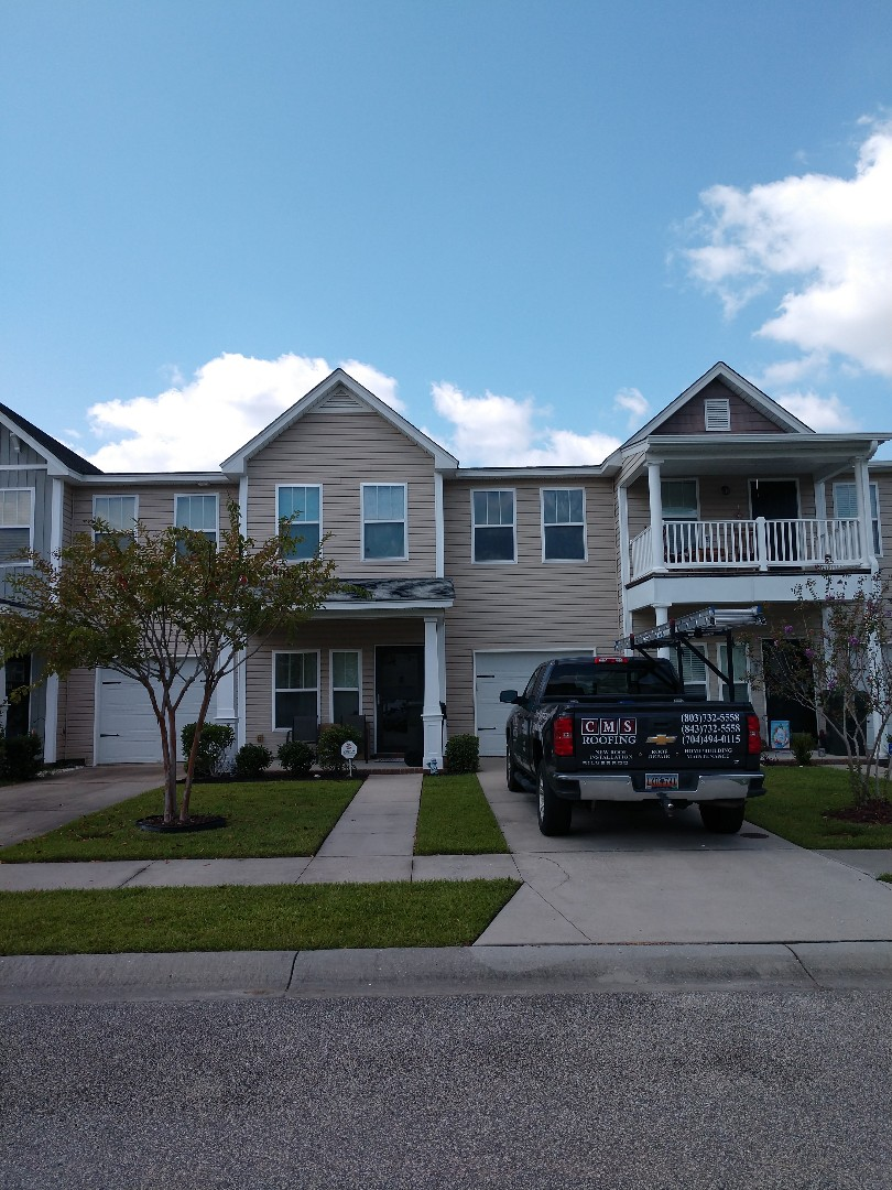 Goose Creek, SC - Shingle issues at cokers commons subdivision