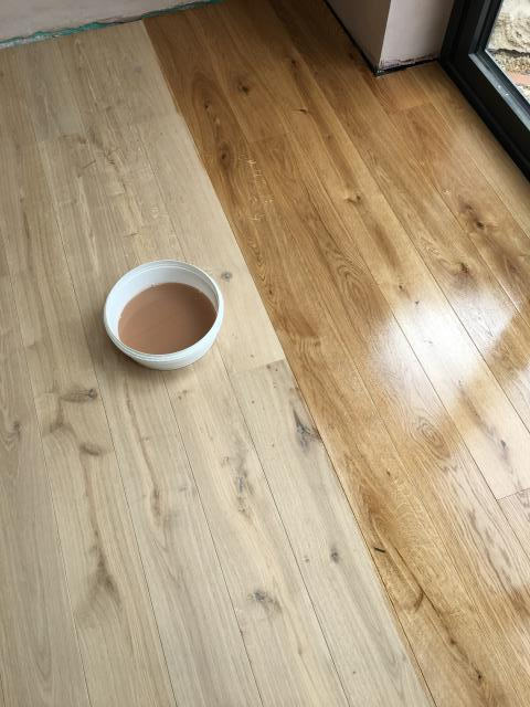 Supply Engineered Wood Floor for Kitchen renovation. Product: Naked Floors - Unfinished Engineered Oak Floor.