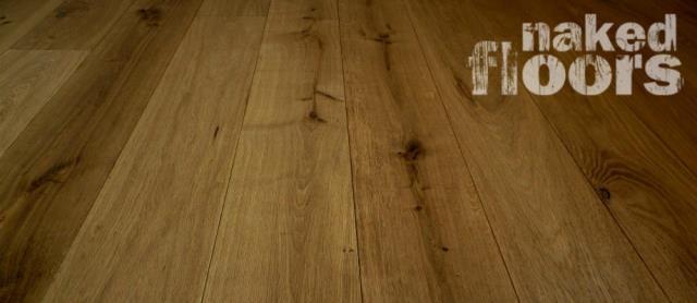 Supply: Engineered Wood Flooring. Product: Naked Floors 21mm x 180mm Golden Oak Engineered Oak Flooring.