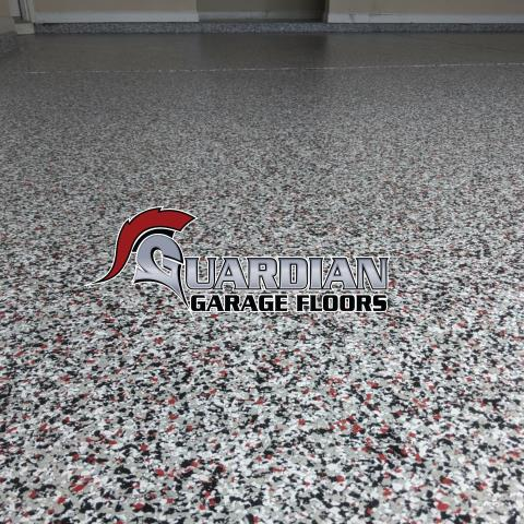 Atlanta, GA - Get a floor that will last a lifetime. Polyaspartic polyurea is 20 times stronger than epoxy. We offer a lifetime warranty on our product guaranteed no chip no fail. This floor was done in our popular color Domino/red in Atlanta.