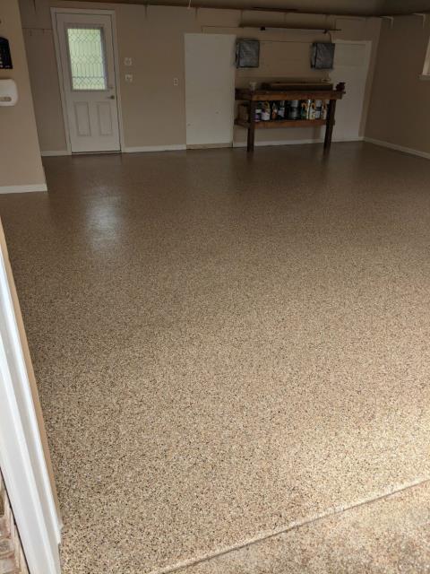 Marietta, GA - Guardian Garage Floors was in Marietta GA making another customer happy! We did this beautiful install in just ONE DAY.