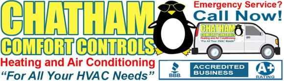 CHATHAM COMFORT CONTROLS HEATING & AIR CONDITIONING