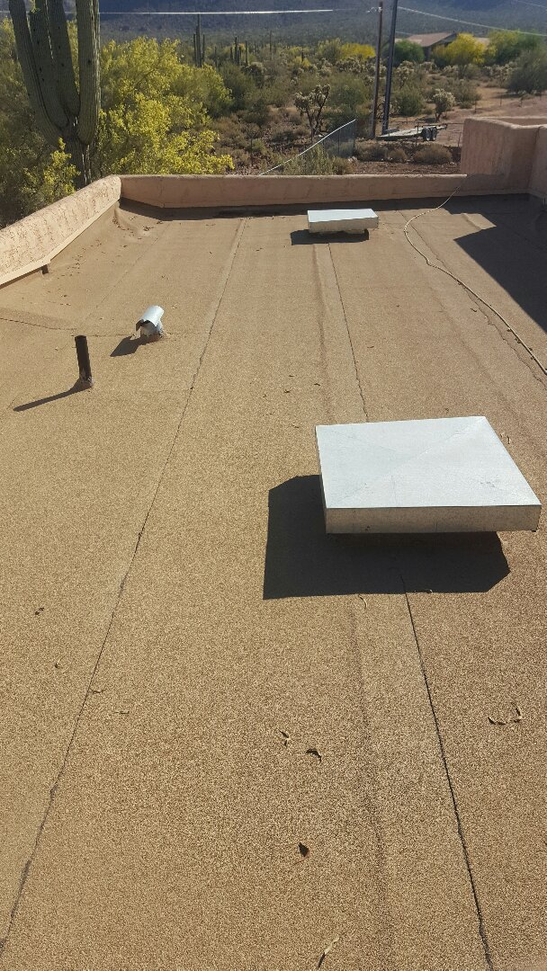 Apache Junction, AZ - Flat roof leaking need to find problem
