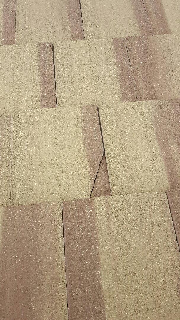 Gilbert, AZ - Broken tile