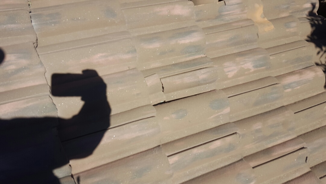 Scottsdale, AZ - Brojen stacco tile