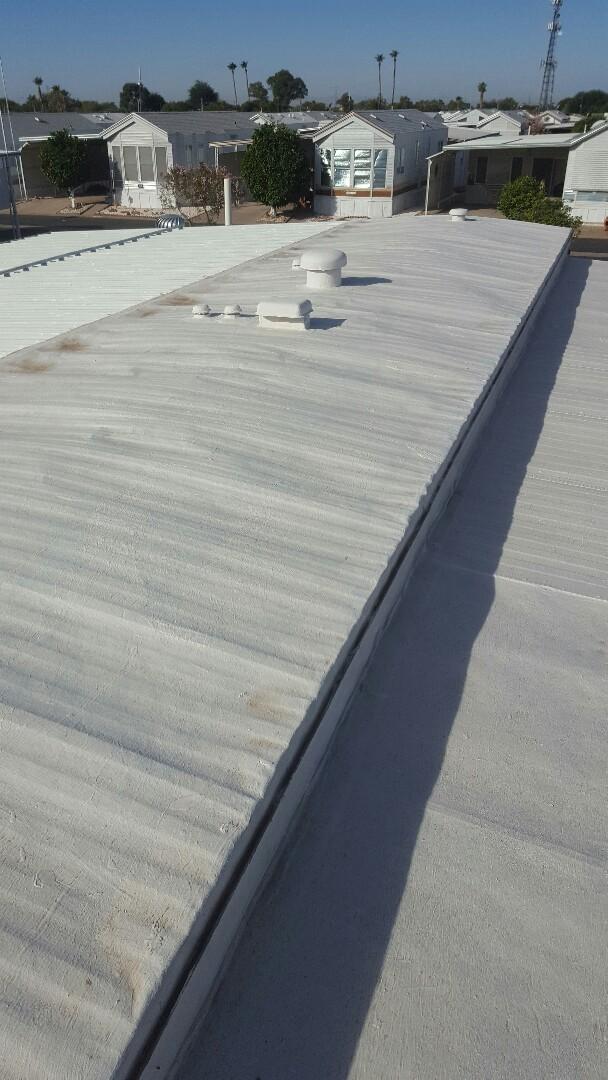 Mesa, AZ - Metal roof
