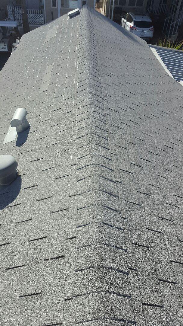 Mesa, AZ - Reroof,loss of granuels on shingles