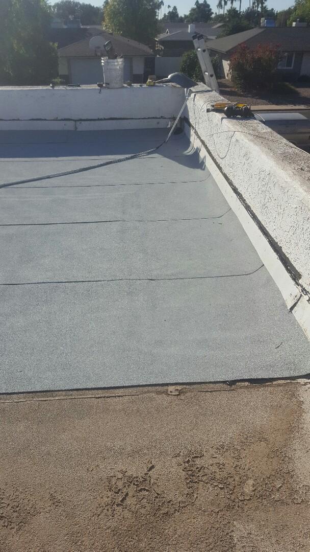 Mesa, AZ - Tear off old roof put new on