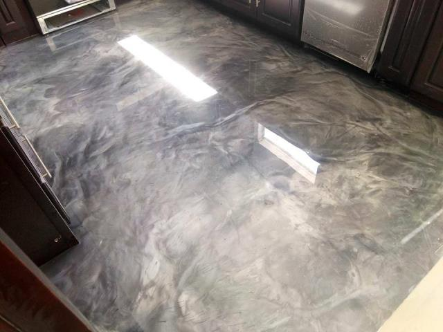 Troy, OH - They did such a great job on this kitchen floor! I LOVE IT! Their prices are great for their work! I HIGHLY RECOMEND! 5/5 STARS!
