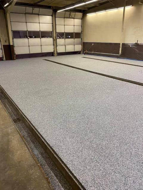 Lima, OH - Best in the business, and very professional! Elsner Painting resurfaced the concrete floor in our truck shop, and it has benefited the crew a ton! Pun intended!! We ended up going for a GraniFlex overlay, considering that the floor comes into contact with a large number of liquids a day. The finished product is beautiful and extremely durable! We are very pleased with our new truck shop floor! I strongly recommend Elsner Painting for all your concrete projects.
