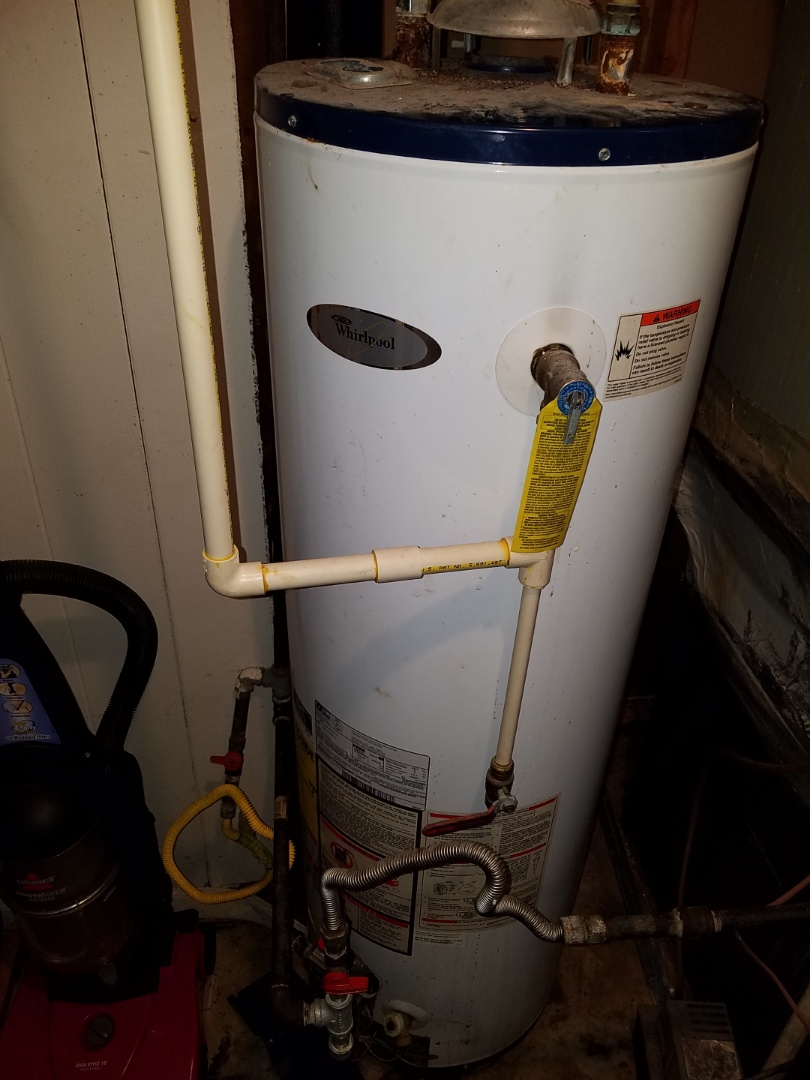 Decatur, GA - Gave a price on a new gas line from the meter to the house also gave a price on a new water heater and a pressure-reducing valve.